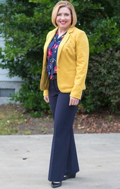 Savvy Southern Chic: Mustard and Navy