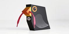 paper bird, packag kid, box packag, beauti birdshap, bird packag, packag design, bird sculptur, shoelac bird, birdshap packag