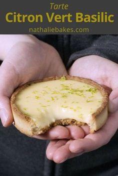 La tarte citron vert basilic de Jacques Genin. À la fois acidulée et terriblement onctueuse, elle vous fondra dans la bouche.