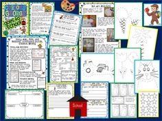 Curious George Goes to School- Dot Art Activity and LOTS more!
