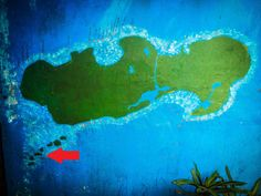 Utila Map! We already miss this place! #gettingstamped #rtw #travel