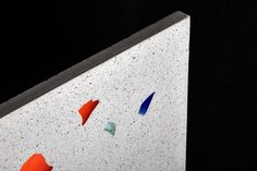 Multicolored glass stones, remnants from a German glass manufactory are completely recycled and placed in a fine concrete matrix. Abstract threedimensional paintings for architecturals spaces. Architectural Materials, Wall Cladding, Recycled Glass, Terrazzo, Colored Glass, How To Introduce Yourself, Floors, Concrete, Mosaic