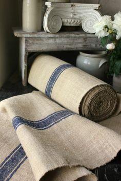 Antique Vintage Stair Table Runner Hemp Rug per 1 yd Carpet Navy Blue | eBay