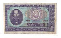 Romania-Socialist-100-lei-1966-Bancnote-Circulated