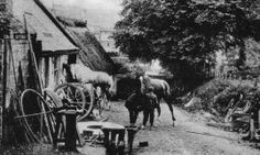 German Army soldiers with horse drawn equipment moving past a gun emplacement dredger near the town. Old Photographs, Old Photos, Vintage Photos, Scotland People, Flanders Field, Glasgow Scotland, Army Soldier, Horse Drawn, Victoria Australia