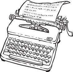 Vintage Typewriter Machine