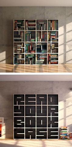Coolest DIY Bookshelf Ideas https://www.futuristarchitecture.com/25135-diy-book-shelf.html