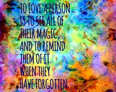 Giclee print colorful abstract floral love quote wall by Eternitee, $18.00