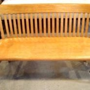 Vintage bench, perfect for a hallway or entranceway