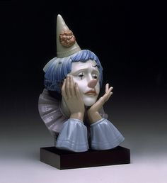 LLADRO - CLOWN'S HEAD (B)
