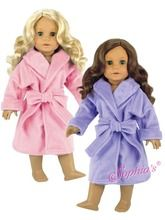 Soft Fleece Robe Fits 18 Inch American Girl Dolls Clothes Sleepwear     http://www.doll-clothes.com/15-95-under-deals-18-inch-doll-clothing/