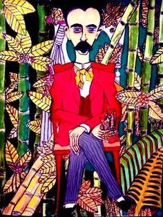Jose Marti by Wilfredo Lam