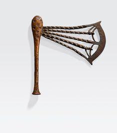 Songye Ceremonial Axe, Democratic Republic of the Congo Ocean Art, Republic Of The Congo, Axe, Auction