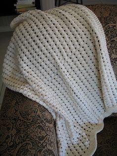 Waffle Knitting Pattern Blanket : Waffle blanket, Waffles and Ravelry on Pinterest
