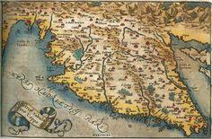 Istria Map | Most Serene Republic of Venice