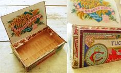 great template for a cigar box (complete with Graphics) from JSIM