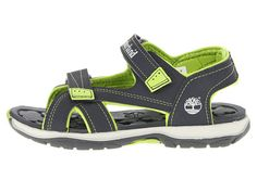 Timberland Kids Mad River 2-Strap Sandal (Little Kid) Navy/Yellow - Zappos.com Free Shipping BOTH Ways
