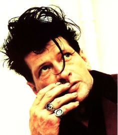Dutch Painter-Rocker Herman Brood killed himself by jumping from the roof of the Amsterdam Hilton Hotel. The drugs didn't work anymore and he wanted to go out with a bang. Hands On Face, Dutch Painters, Dutch Artists, Rock Legends, Music Film, Rock Art, Rock N Roll, Netherlands, Famous People