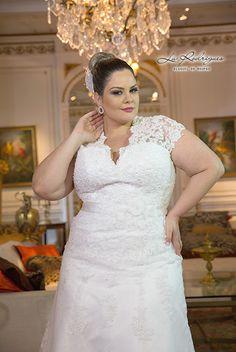 Vestido de Noiva Plus Size 01