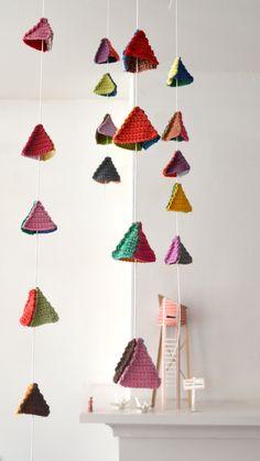 #DIY crochet triangles