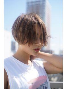 【studio tva】men's×girl short:L014255951|スタジオトヴォ(studio tva)のヘアカタログ|ホットペッパービューティー Asian Bangs, Short Girls, Hair Lengths, New Hair, Pixie, Salons, Cool Hairstyles, Short Hair Styles, Hair Makeup