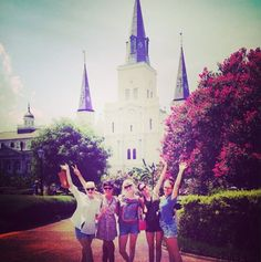 New Orleans Bachelorette Party | grownupshoes.com