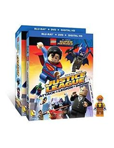 Dee Bradley Baker & Troy Baker & Rick Morales-LEGO DC Super Heroes: Justice League: Attack of the Legion of Doom! w/ Figurine
