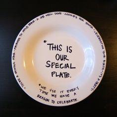 plate sharpie - Google Search