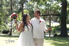 """""""I do, we did"""" wedding sign at Elope Niagara Chapel Wedding, Wedding Signs, Chalkboard Wedding, Wedding Photos, Wedding Plaques, Marriage Pictures, Wedding Shot, Wedding Photography, Bridal Photography"""