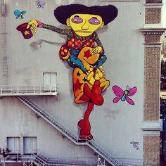Os Gemeos street art