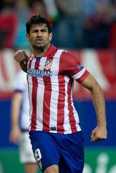2013.11.06 Atleti 4-0 Austria. Diego Costa rage