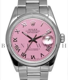 Rolex pink! I WANT THIS!!!