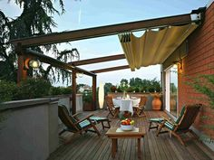 Retractable Patio Roofs - Awning Warehouse