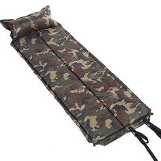 32.02$  Watch more here - http://aioow.worlditems.win/all/product.php?id=32434597457 - Self Inflating Mattress Pad Foldable Camping Mat Hiking Pad Outing Picnic Napping Moistur-proof Sleeping Bag Military 185cm NEW