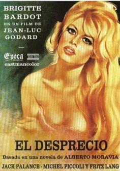"""""""Ah, tuve la gran agarrada con Aurora a propósito de Le Mépris, de Jean-Luc Godard. A ella le reventó, y a mí me gustó enormemente ese erotismo en frío, de raíz sádica, (de Sade, no del sadismo de los torturadores)."""" (Carta de Julio Cortázar a Manuel Antín, 1964)  #25años #LCeM15"""