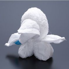 turtle facts around us: Animal Towel Sculptures | Towel folding Origami