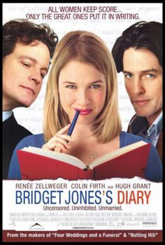 Bridget Jones& Diary - Romantic Comedy with Renee Zellweger, Colin Firth, and Hugh Grant. Funny movie about relationships and finding love. Bridget Jones Diary Movie, Bridget Jones's Diary 2001, Beau Film, Hugh Grant, See Movie, Movie Tv, Thriller, Films Cinema, Cinema Uk