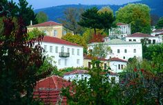 TRADITIONAL HOUSES Greece, Houses, Traditional, Mansions, House Styles, Home Decor, Greece Country, Homes, Decoration Home