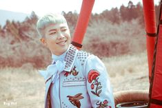Rap Monster • Young Forever • Jacket photo shooting