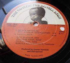 The Concert For Bangla Desh (HARRISON /DYLAN) 1972 UK APPLE 3LP w/BOOK - MINT