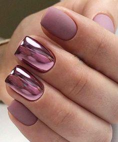 chrome nails Fresh And Latest Chrome Nail Designe For Summer Chrome Nails Designs, Chrome Nail Art, Nail Art Designs, Chrome Nail Colors, New Year's Nails, Fun Nails, Hair And Nails, Fall Nail Colors, Nail Polish Colors