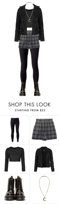 """Untitled #249"" by littledeadridinghood2014 ❤ liked on Polyvore featuring Jockey, Topshop, AllSaints, Dr. Martens and Alkemie"