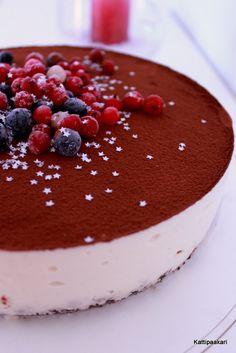 Kattipaakari: Piimäkakku Tiramisu, Panna Cotta, Cheesecake, Cakes, Baking, Ethnic Recipes, Desserts, Food, Tailgate Desserts