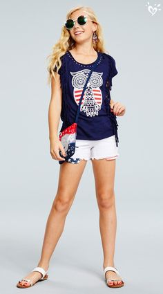 O, say, can you be any more of a style standout in our awesome red, white & boho pieces?