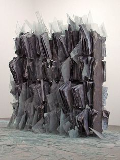 """Anselm Kiefer: Sternenfall (chute d'étoiles / bris des vases), 2007. """"Monumenta"""", Grand Palais, Paris 2007. #FredericCla"""