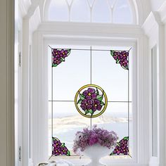 Just for You: Wall Stickers Window Stickers, Window Decals, Window Wall, Wall Stickers, Lace Window, Stained Glass Window Film, Glass Cabinet Doors, Glass Door, Glass Art