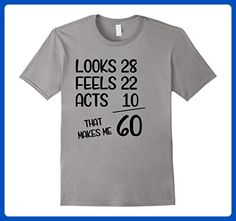 THIS IS HOW AWESOME 60 LOOKS born//made in 1957//happy 60th birthday T-shirt S-5XL