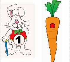 Dzień Marchewki: Matematyka: Dopasuj obrazki Montessori Activities, Easter Crafts, Disney Characters, Fictional Characters, Snoopy, Shapes, Math Education, Special Education, Easter Bunny