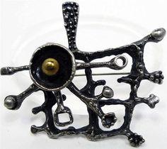 Canadian Brutalist Jewelry
