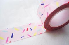 sprinkle tape!